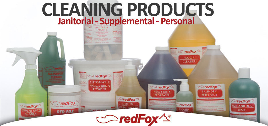 Cleaning Products Janitorial Supplies Redfox Environmental